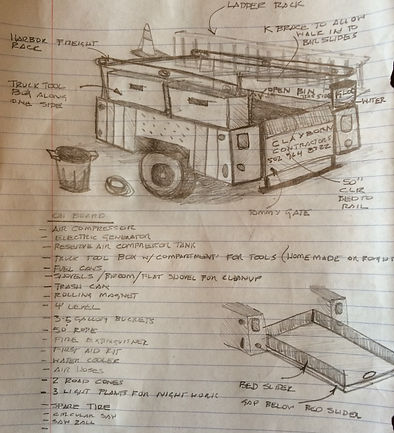 M1101 Contractor Trailer