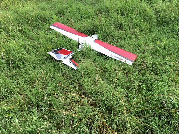 Precision Hawk field landing