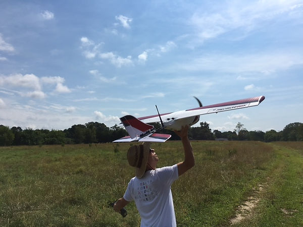 Precision Hawk Takeoff