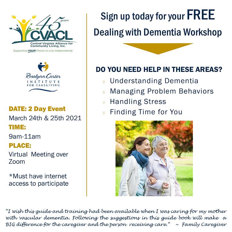 Caregiver Workshop: Dealing with Dementia