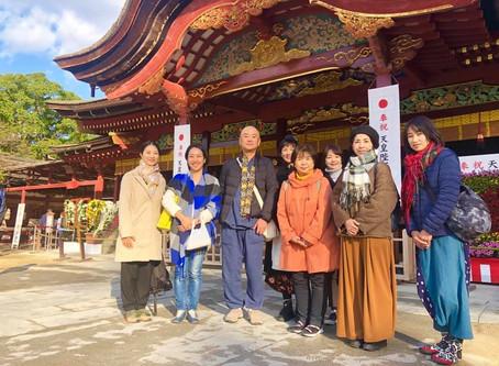 「太宰府で空海さまを学ぶ」ツアー&お話会、開催いたしました✨