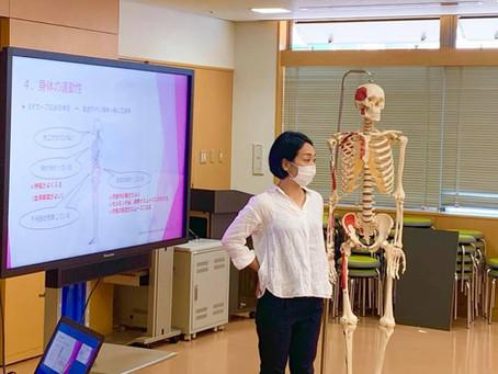 国際医療福祉大学大学院での整体の講義、2日間が終了!