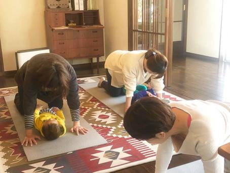 『お母さんと赤ちゃんの心が通じる整YOGA』初開催!
