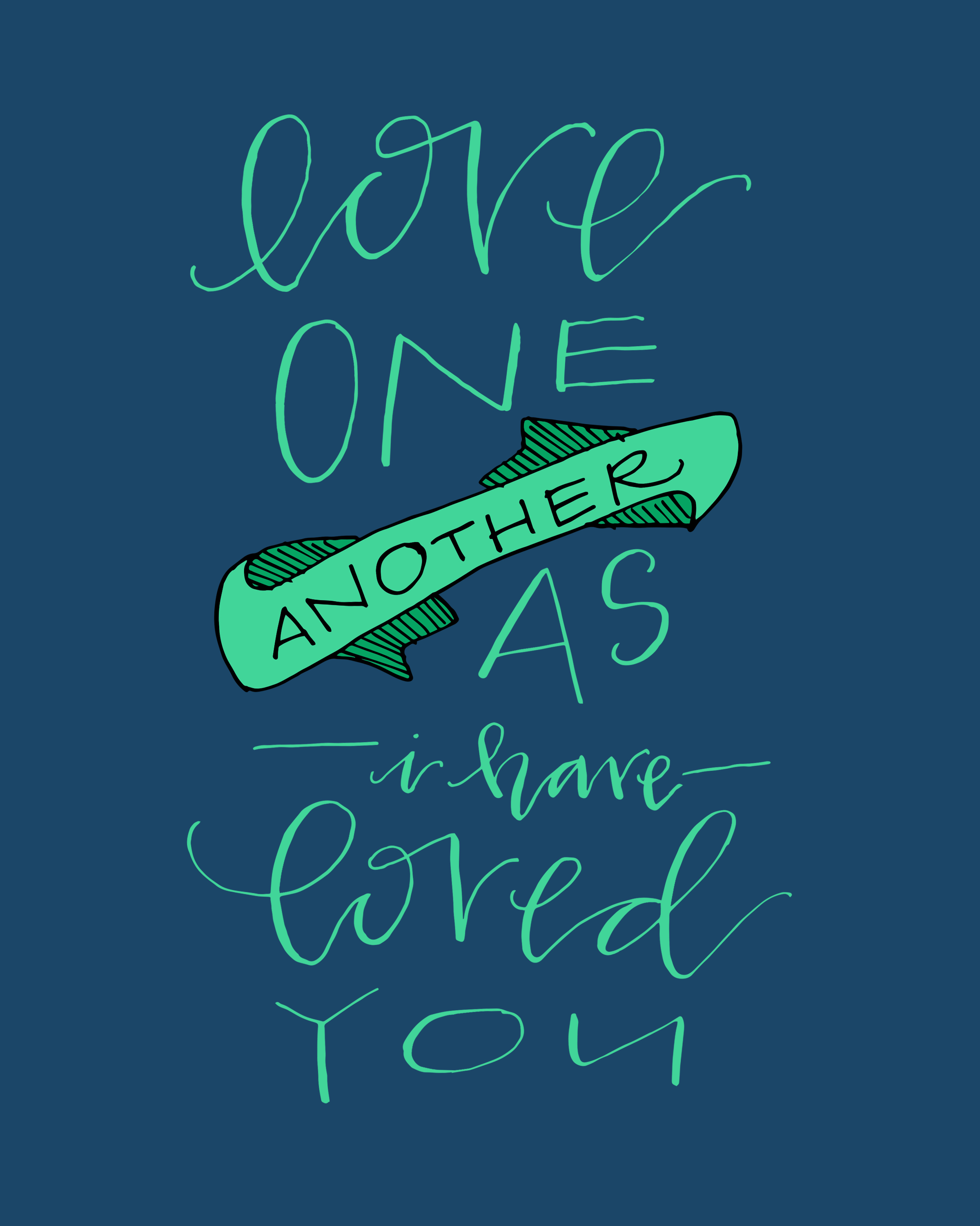 Love One Another: Blue