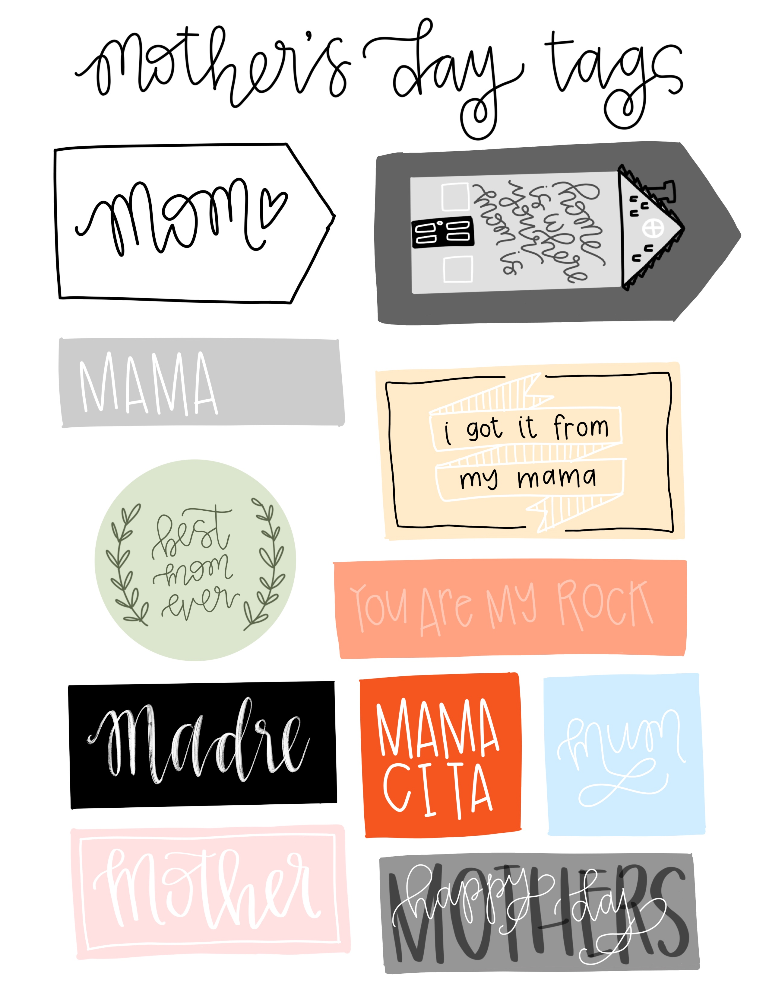 MothersDayTags