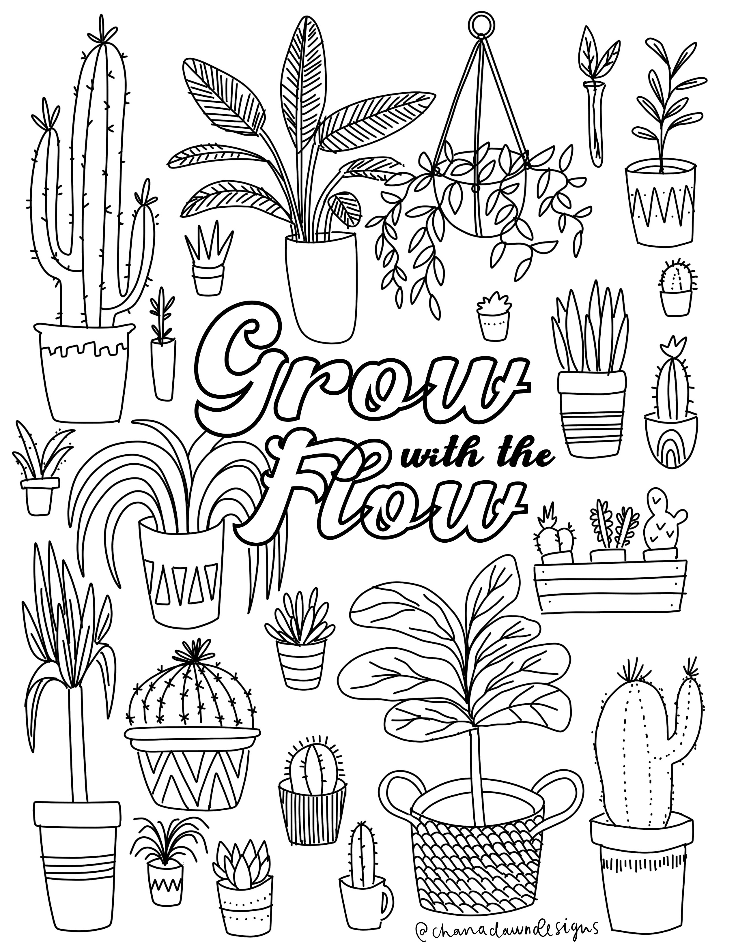 GrowWithTheFlow-ColoringPage