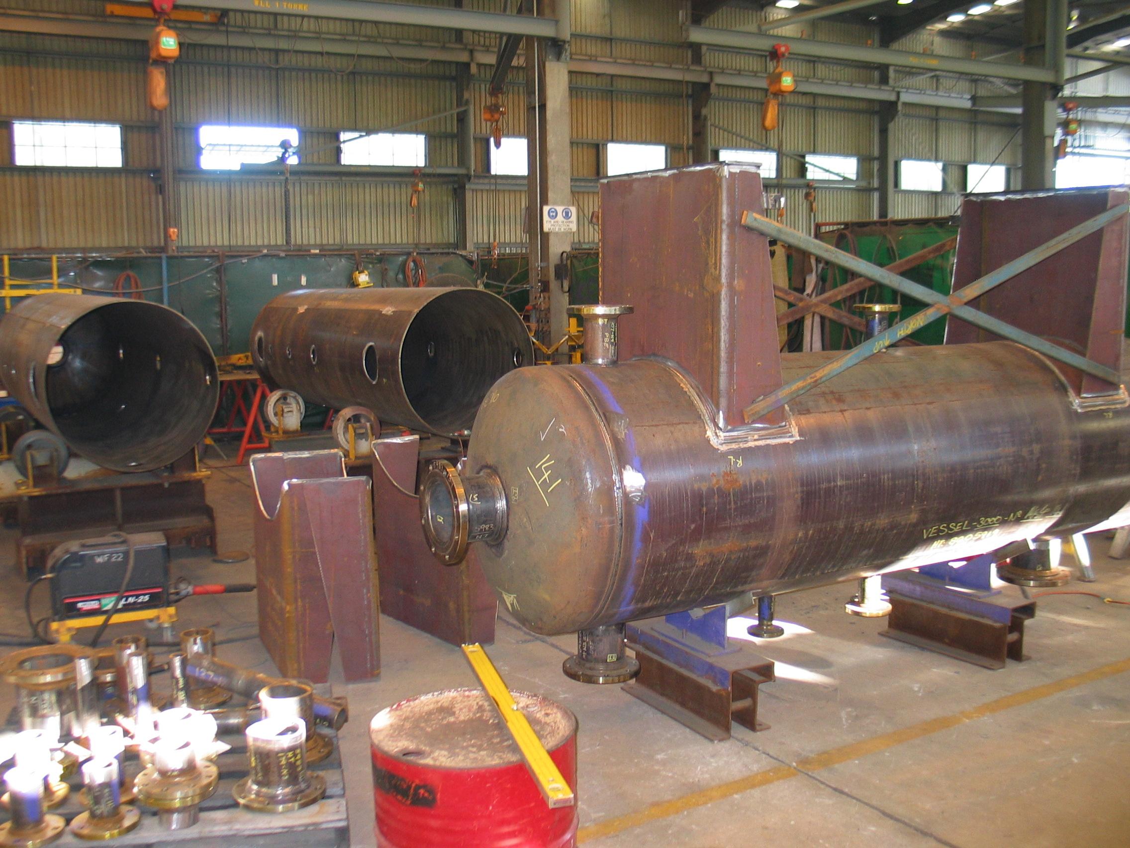 Vessel Fabrication