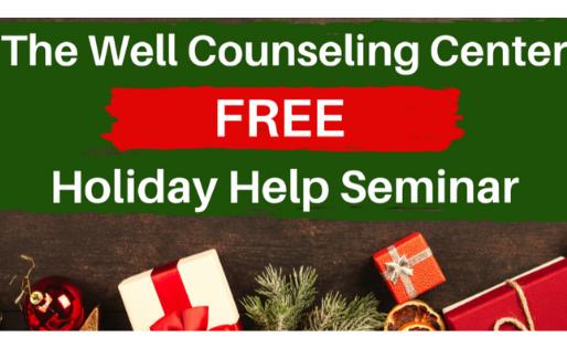 Free Grief Holiday Help Seminar