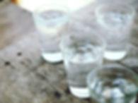 verre eau purifiee