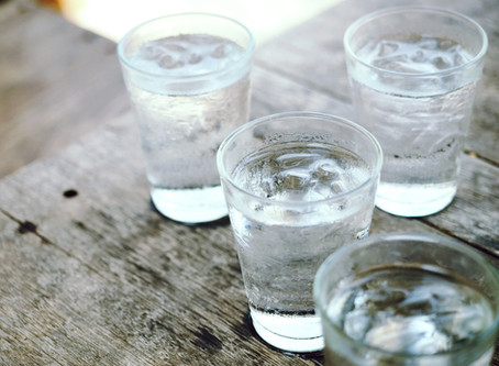 You've all heard me say 'drink plenty of water' and here's why...