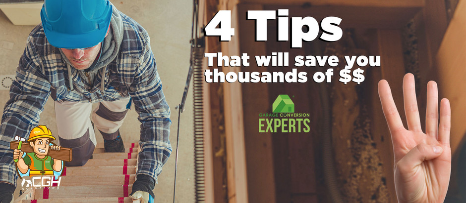4 TIPS THAT WILL SAVE YOU THOUSANDS OF DOLLARS