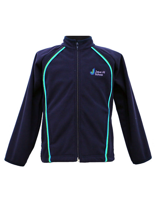 Navy Blue Micro fleece full-zip