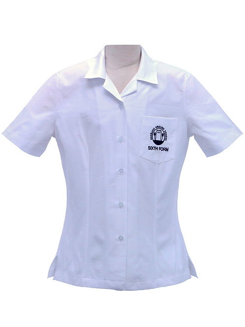 6th form White Blouse