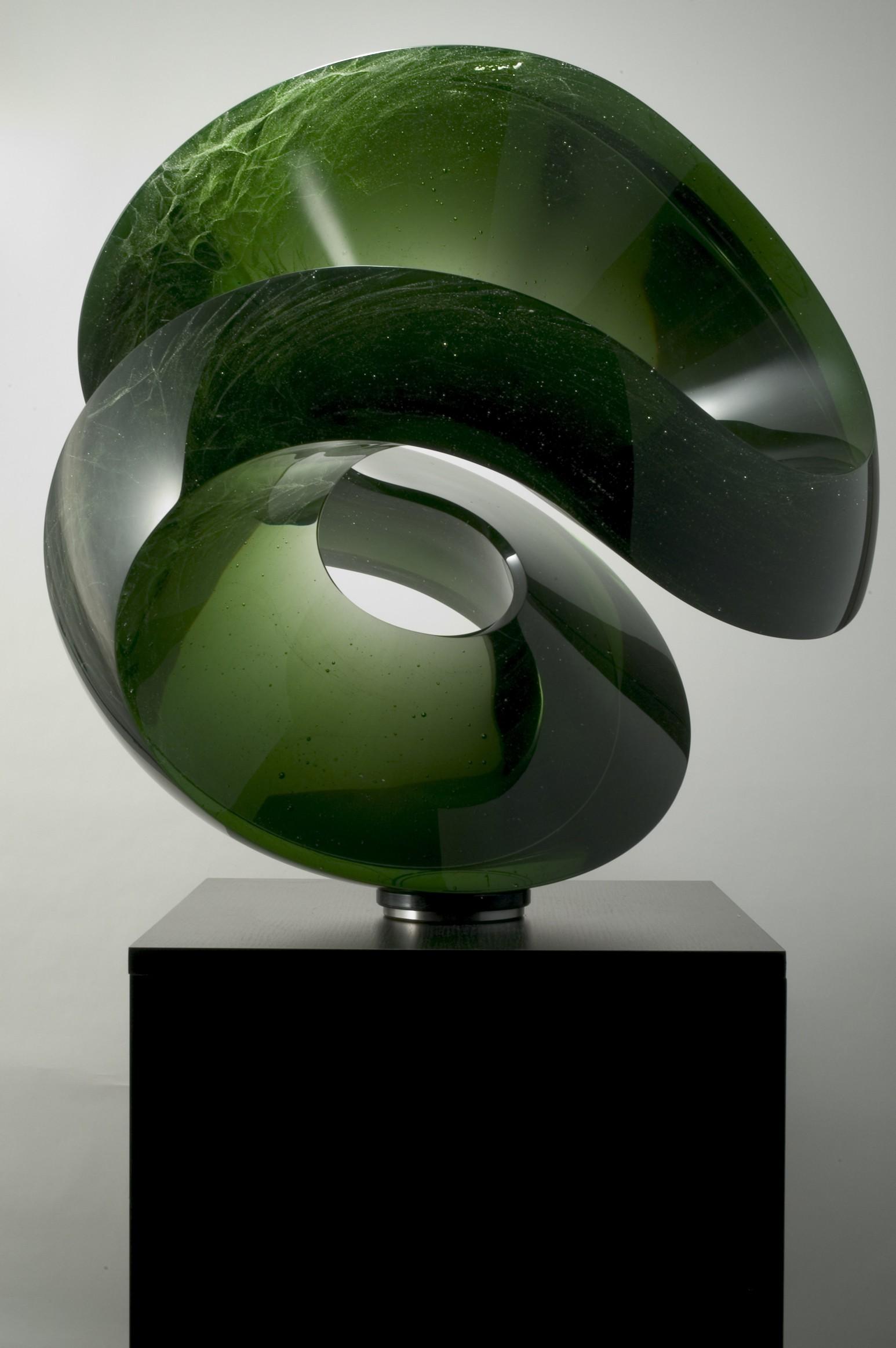 green one , 2010  , 66 cm diameter sold  (1)