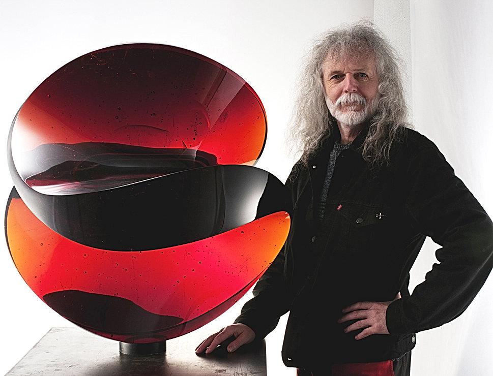 Beranek art , glass art, glass sculptures,