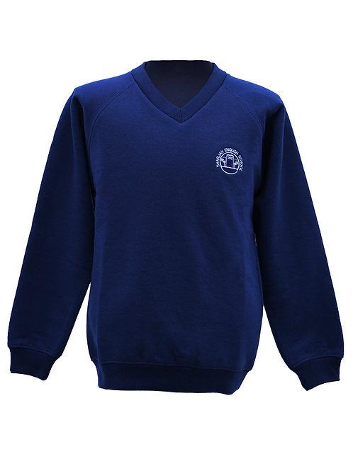 Navy Blue Fleece SweatShirt