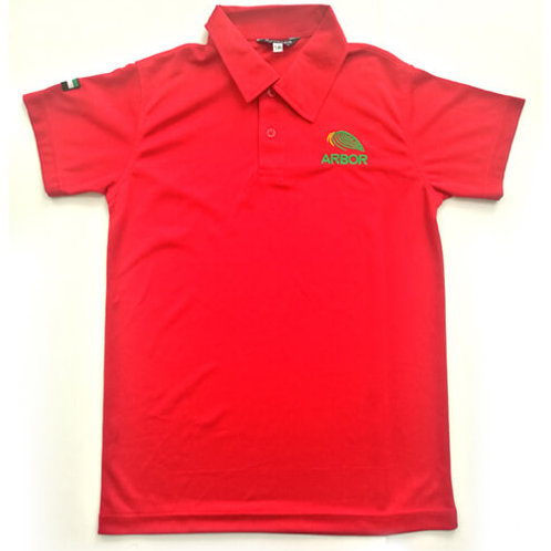 Red Polo-shirt