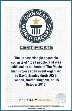 David Stanley World Record