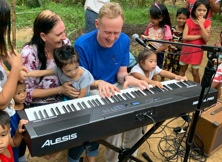 The Music Man Project in the Philippines: music, medicine and 2 inspirational women.