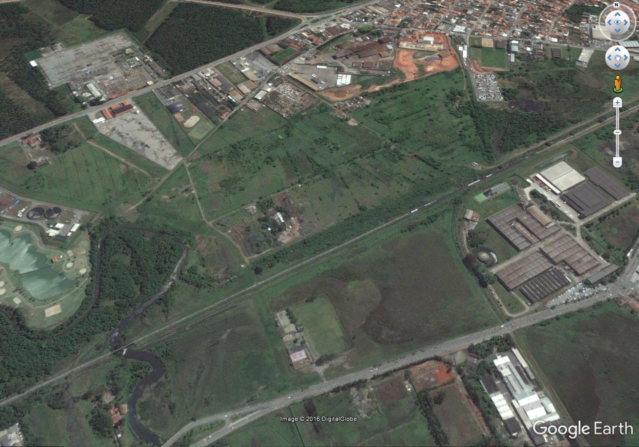 Visualização do Google Earth