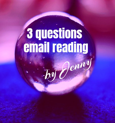 3 Questions Email Reading by Jenny Pugh
