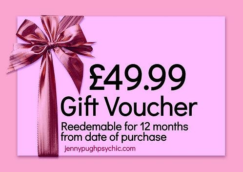 £49.99 Gift Voucher