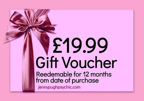 £19.99 Gift Voucher