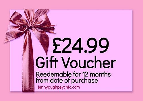 £24.99 Gift Voucher