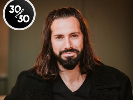 Andrew Salter Named Forbes 30 Under 30