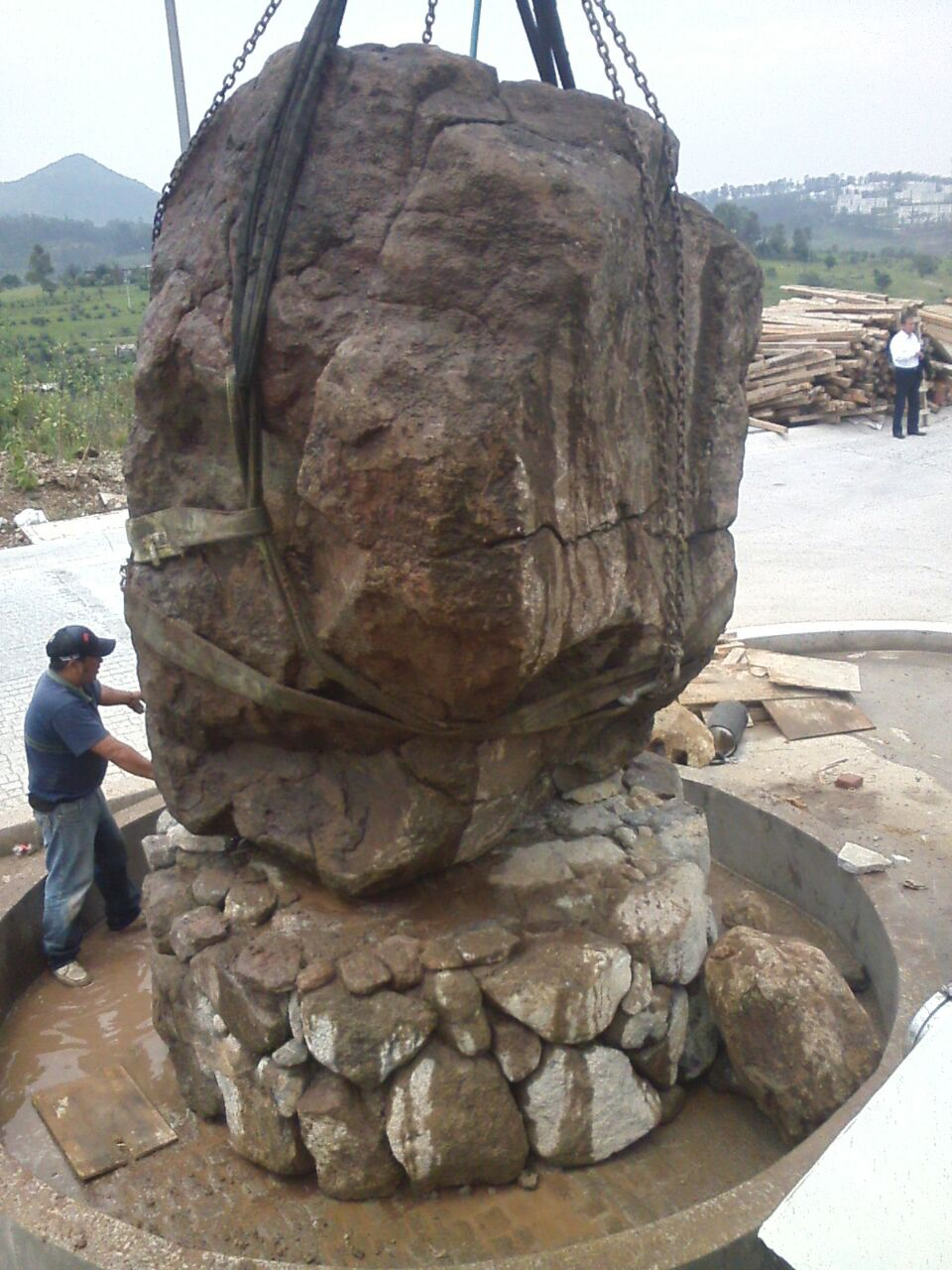 grua para 20 toneladas