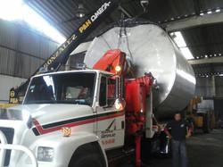 carga y transporte de maquinaria
