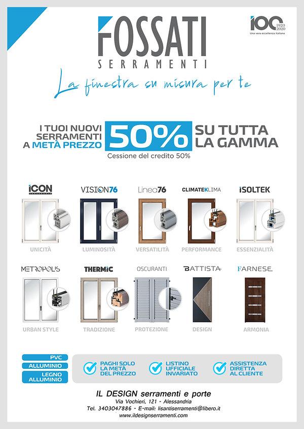 Poster 70x100 Sconto 50% Partner e Riv..