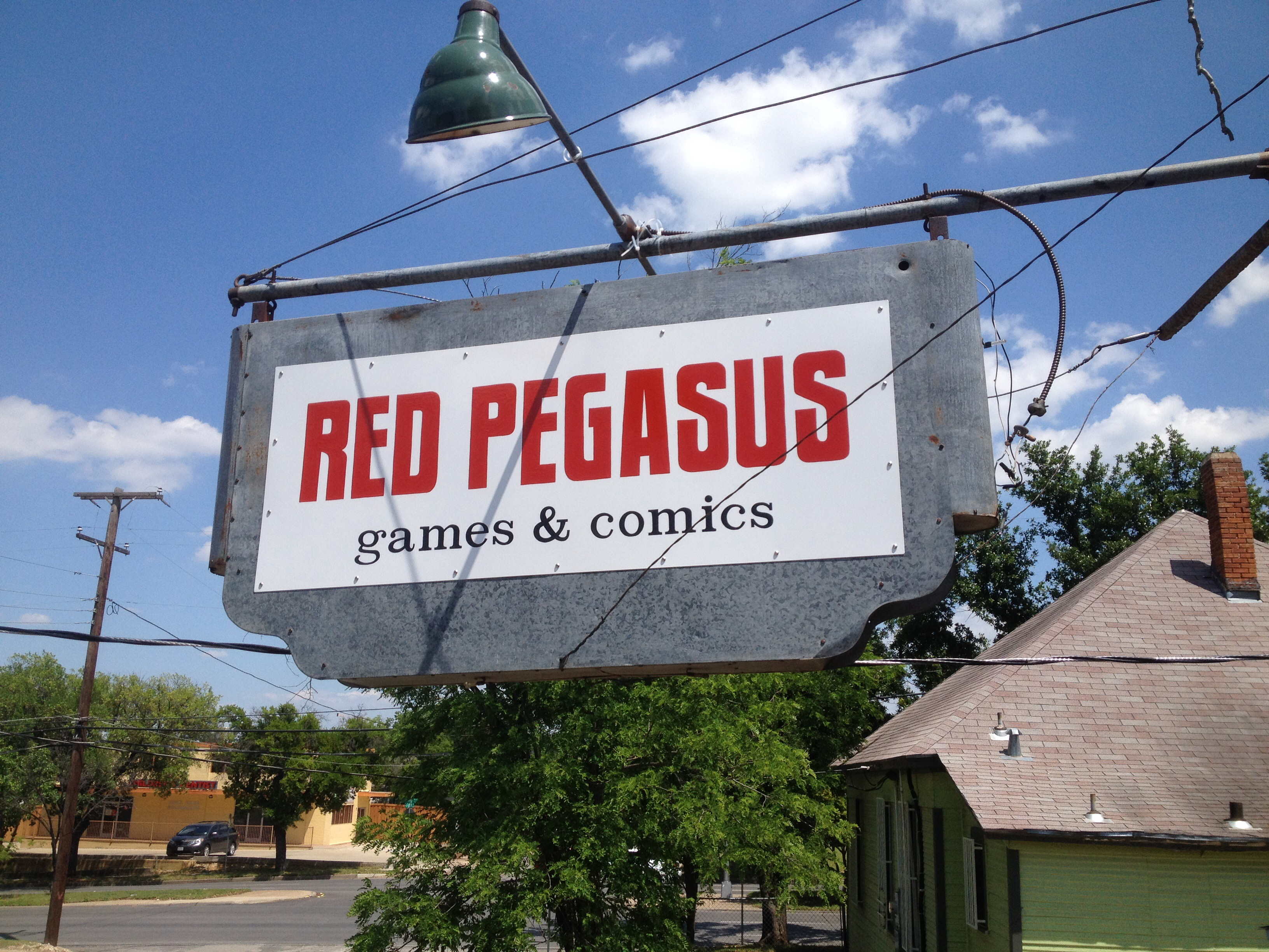 Red Pegasus Games and Comics