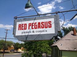 Red Pegasus Games and Comics