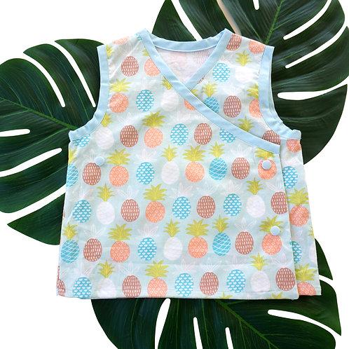 Diaper Shirt Pineapple