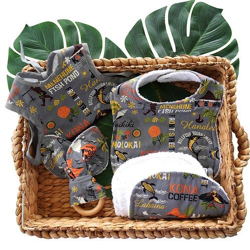 Grey Aloha Gift Set