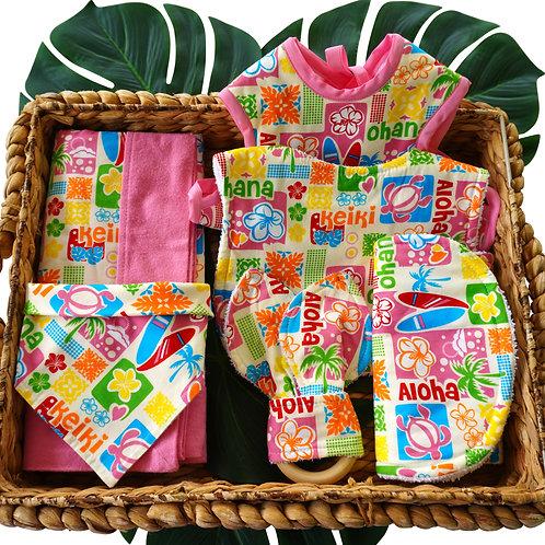 Pink Aloha Gift Set