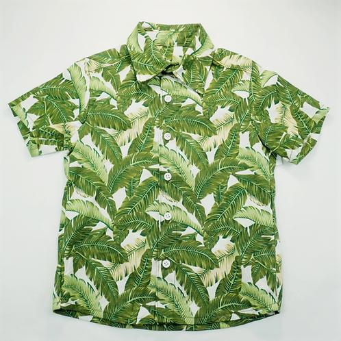 Aloha Shirt Banana Leaves