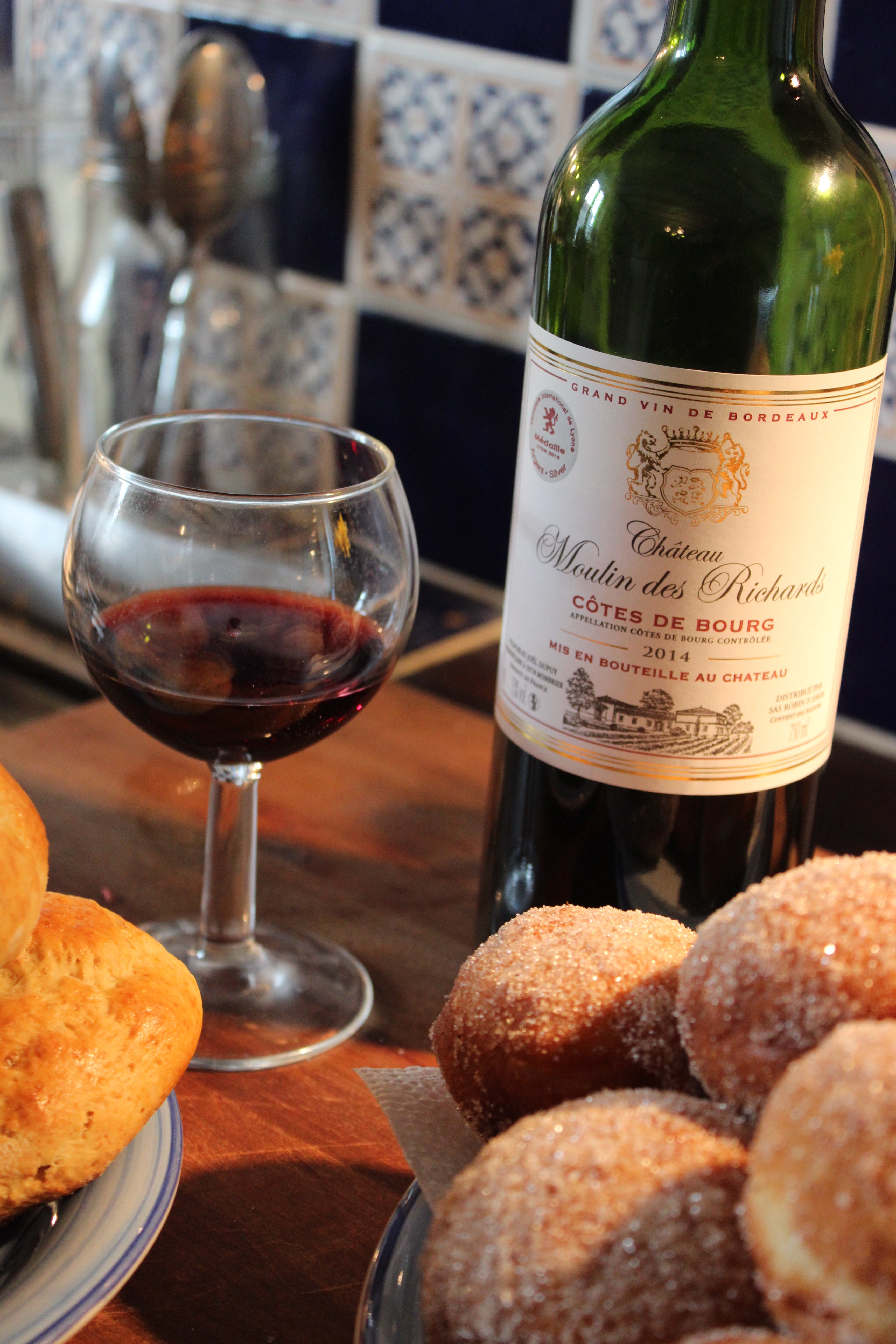 Donuts & wine