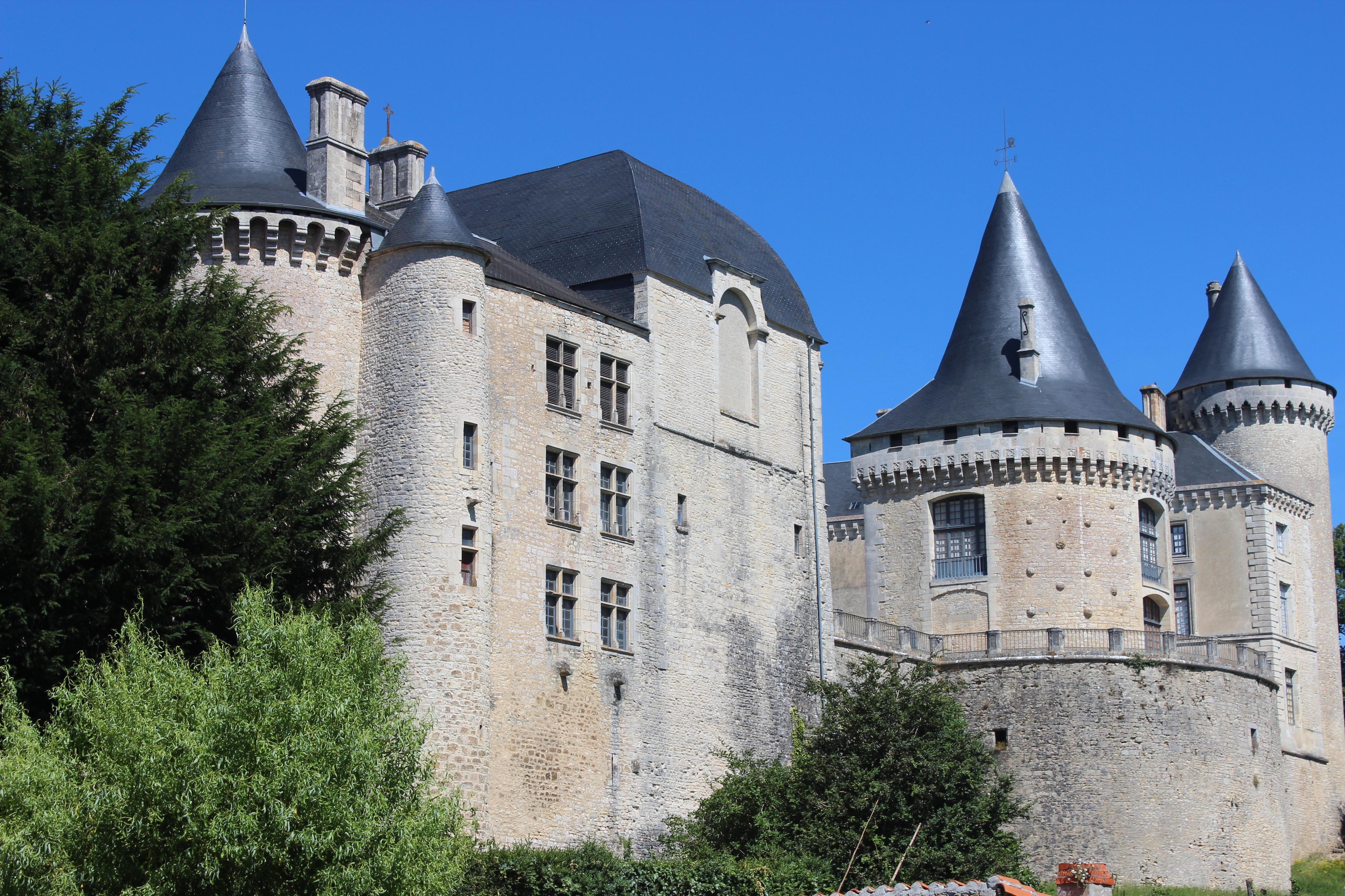 Chateau de Verteuil sur Charente