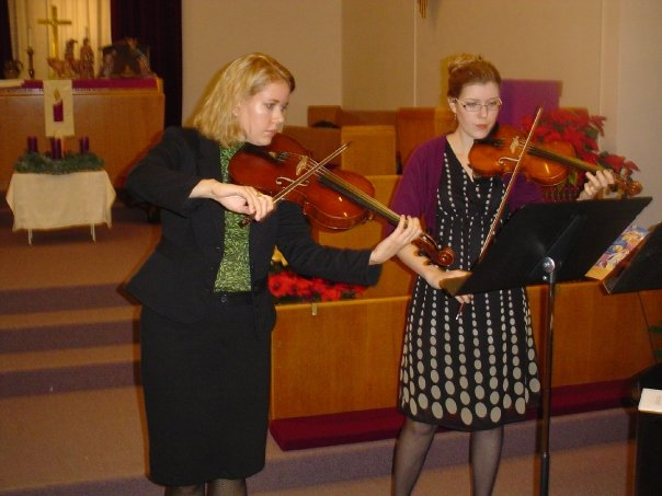 String Duo Church Ceremony