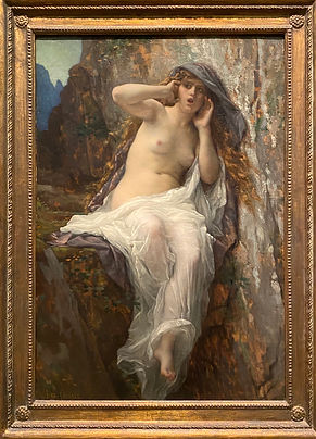 Echo, Alexandre Cabanel, 1874. Oil on ca