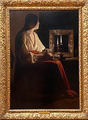 The Penitent Magdalen, Georges de La Tou