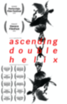 Ascending Double Helix (Vito A. Rowlands, 2019) - Poster
