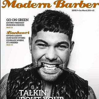 Jac Ludlow Cover of Modern Barber