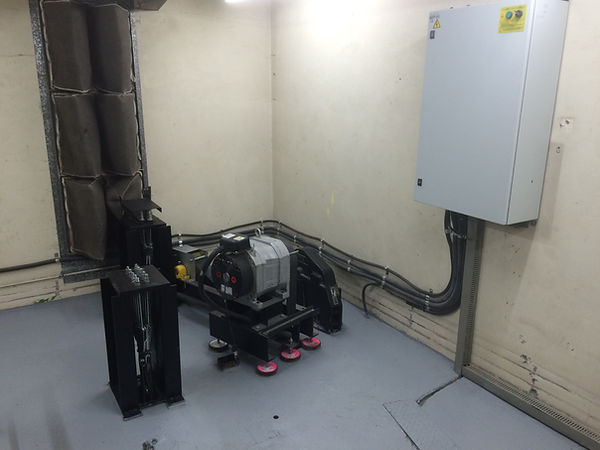 Lift modernisation after motor, gearbox and controller is replaced