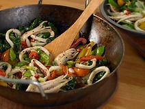 Stir fried salt and pepper squid