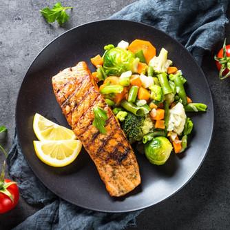 Atlantic Salmon and Seasonal Vegetables