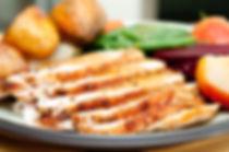 Garlic & herb butter-roasted turkey breast