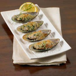 Stuffed Broiled Mussels
